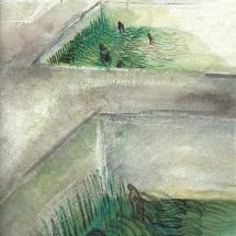 Grasbecken